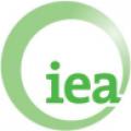 Logo dell IEA, la International Energy Agency