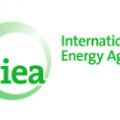 Logo dell IEA, la International Energy Agency
