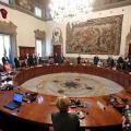 Una seduta del Consiglio dei Ministri (CDM)