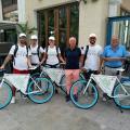 Gli eco-informatori della campagna sulla raccolta differenziata a Sanremo