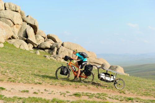 Eco-mobilità. Quattrocento chilometri in Mongolia con la bici ...