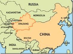 Cartina Geografica Della Cina.Cina La Regione Di Xinjiang E Il Nuovo Paradiso Delle Rinnovabili E Gazette