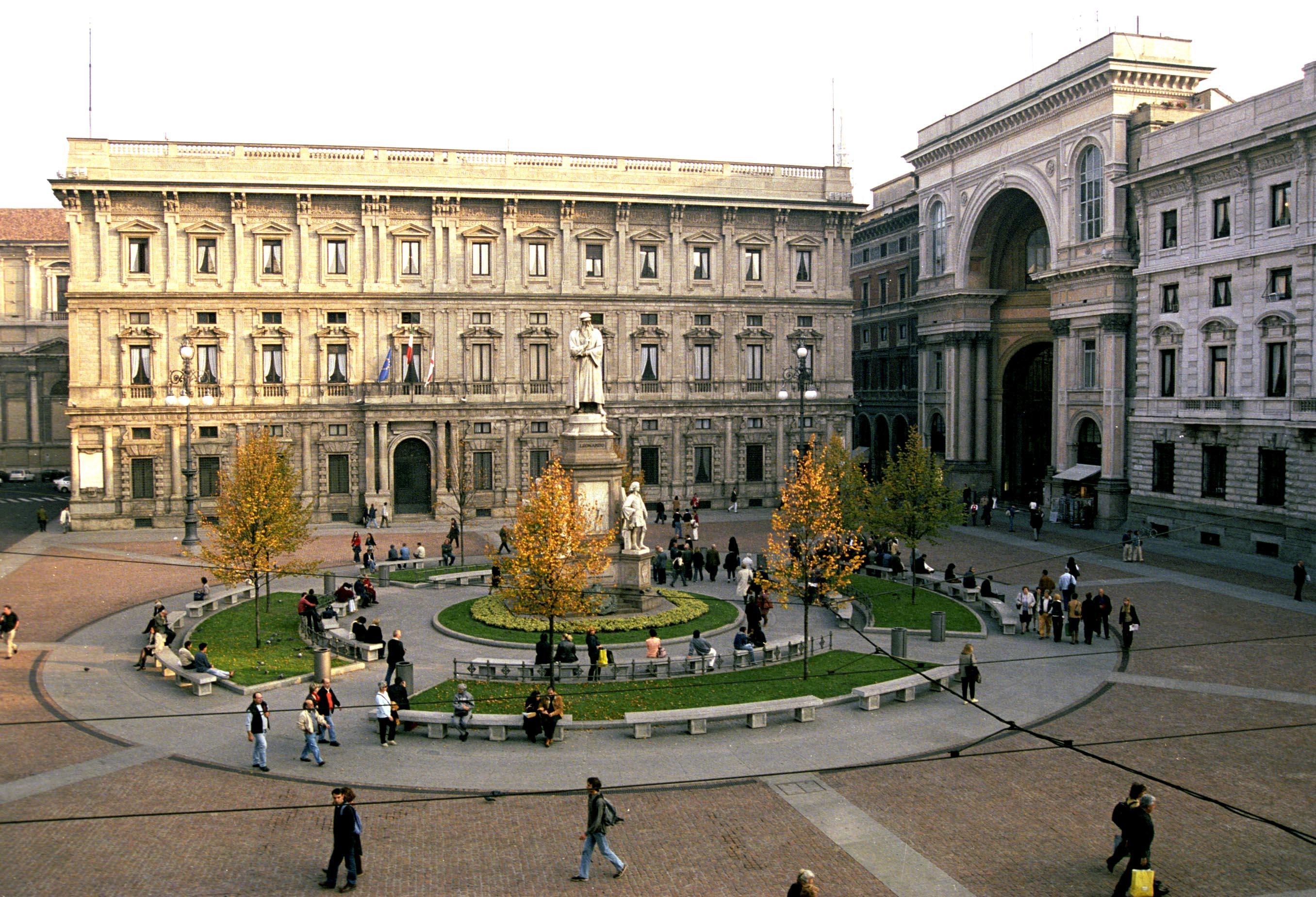 Palazzo Marino sede del une di Milano